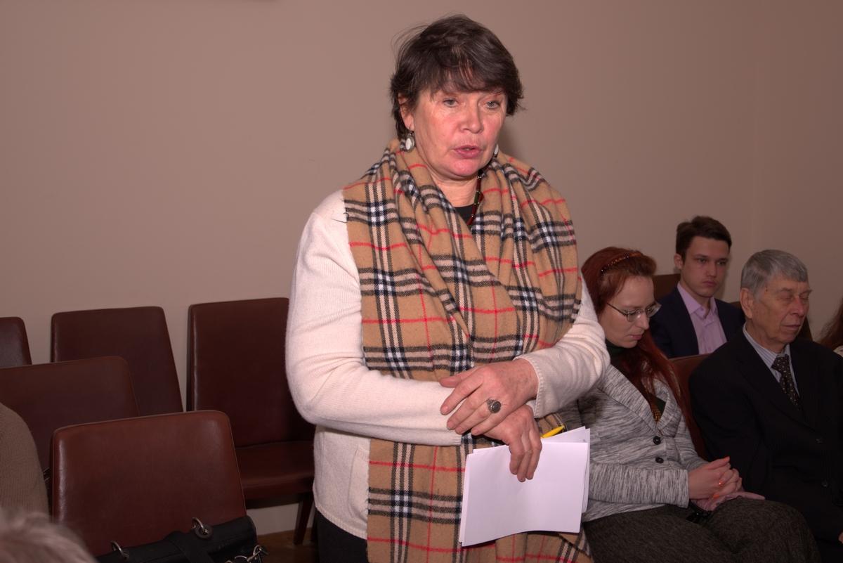Людмила Ситниченко   Держава і громадянські протести   Круглий стіл Філософської думки