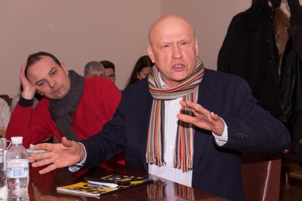 Олег Рибачук | Держава і громадянські протести | Круглий стіл Філософської думки